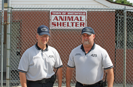 Thomas Taylor • Animal Control Warden, Robert Salisbury • Assistant Animal Control Warden