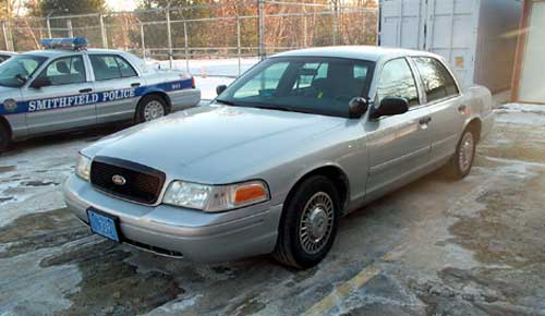 Smithfield Police Department Cruiser