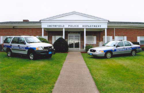 Smithfield Police Department Cruisers