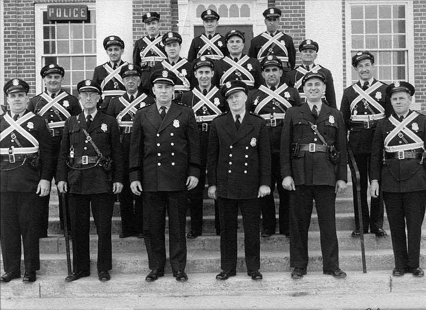 1955 Smithfield Police Department Photo