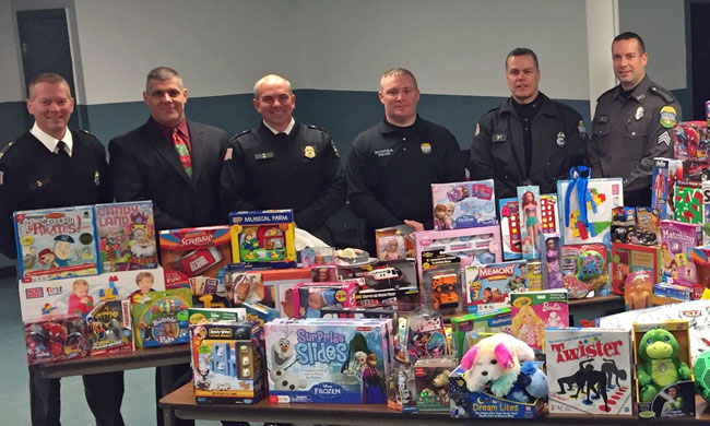 Smithfield Police hosted a holiday gift program