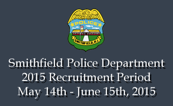 2015 Smithfield Police Department Recruitment