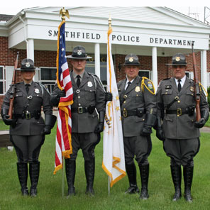 Smithfield Police Department Honor Guard 2015