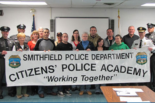 Smithfield Police Department Citizens Police Academy