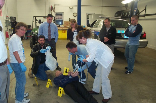 Citizens Police Academy Mock Crime Scene