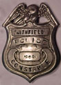 Old Smithfield Police Department Badge