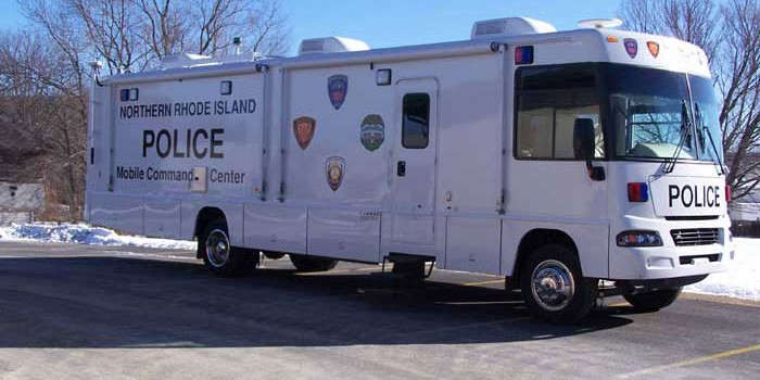 Mobile Command Center Smithfield Police Department