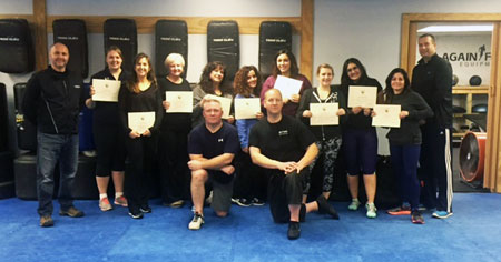 2016 Female Self-Defense Graduating Class