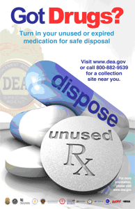 DEA's Prescription Drug  Takeback Day