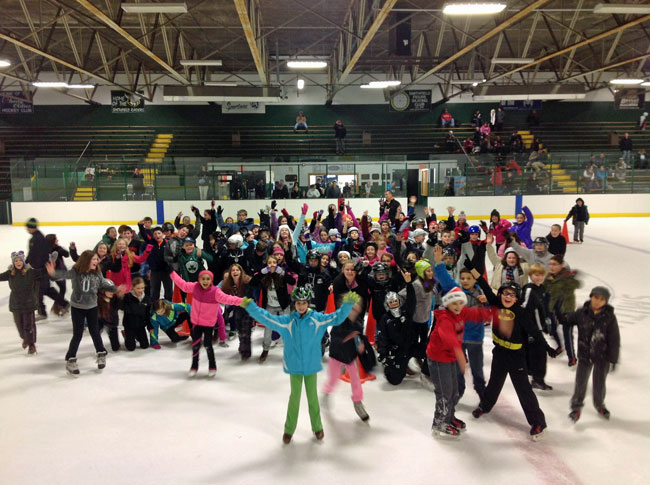 Smithfield Police D.A.R.E. Skating Party