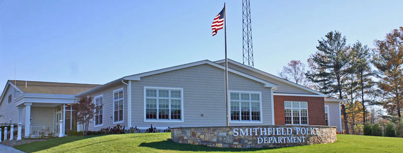 The Smithfield Police Station, 2019