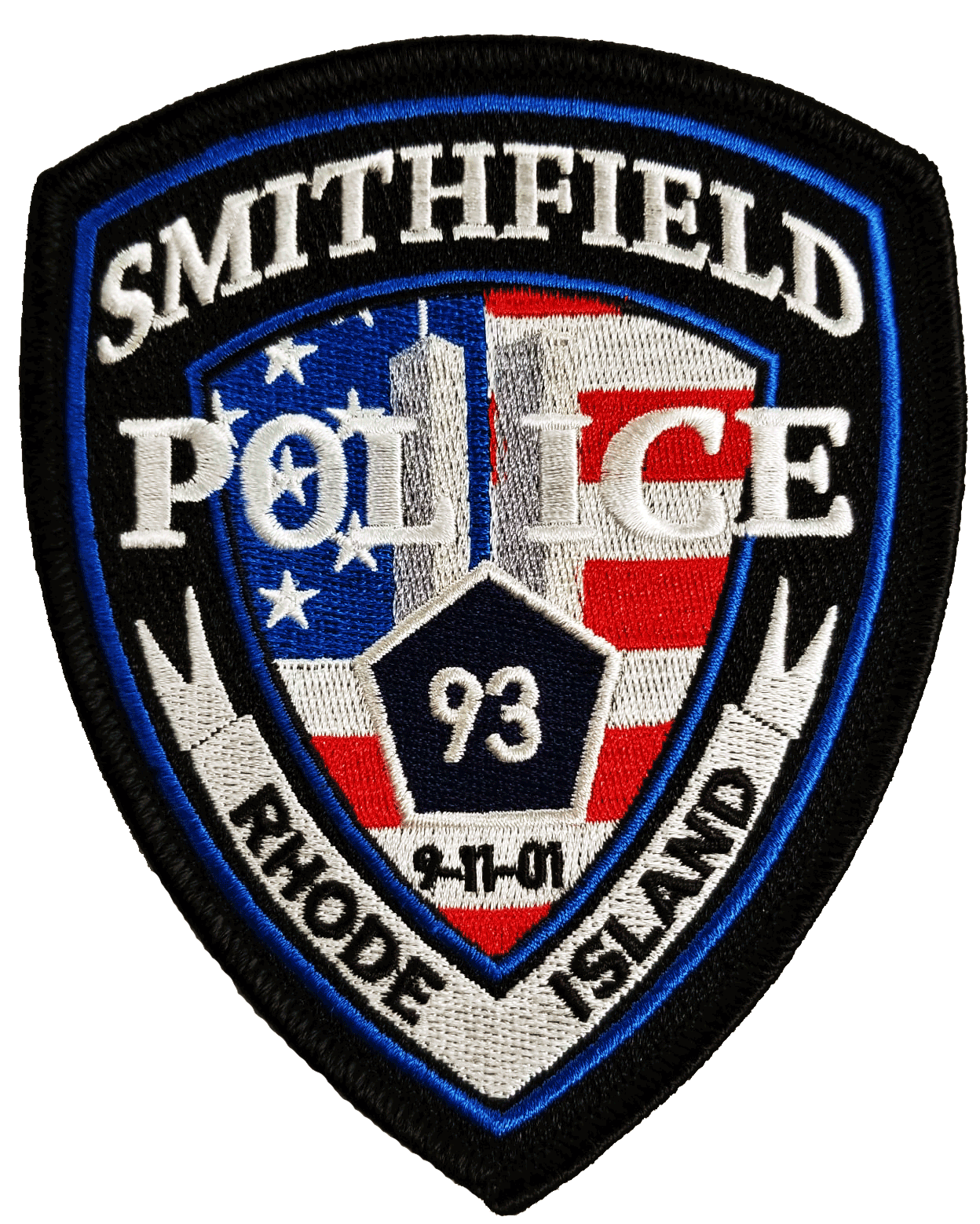 Smithfield Police 9/11 Tribute Patches Available