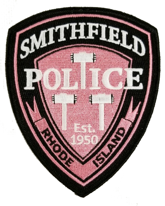 Smithfield Police Breast Cancer Awareness Patch